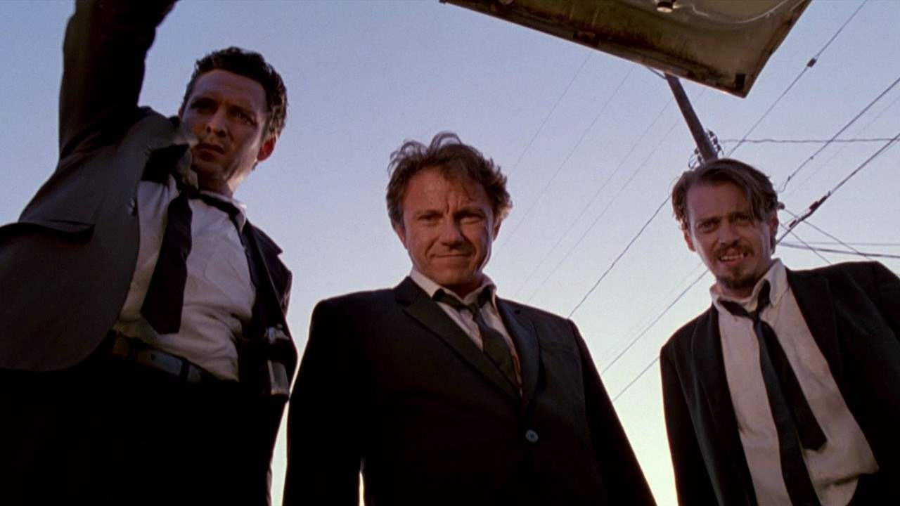Michael Madsen, Harvey Keitel & Steve Buscemi in Reservoir Dogs