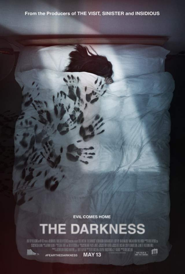 The Darkness new movie poster.