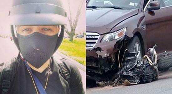 Death by motor bike accident, Muere Jadiel posted a selfie snap moments before.