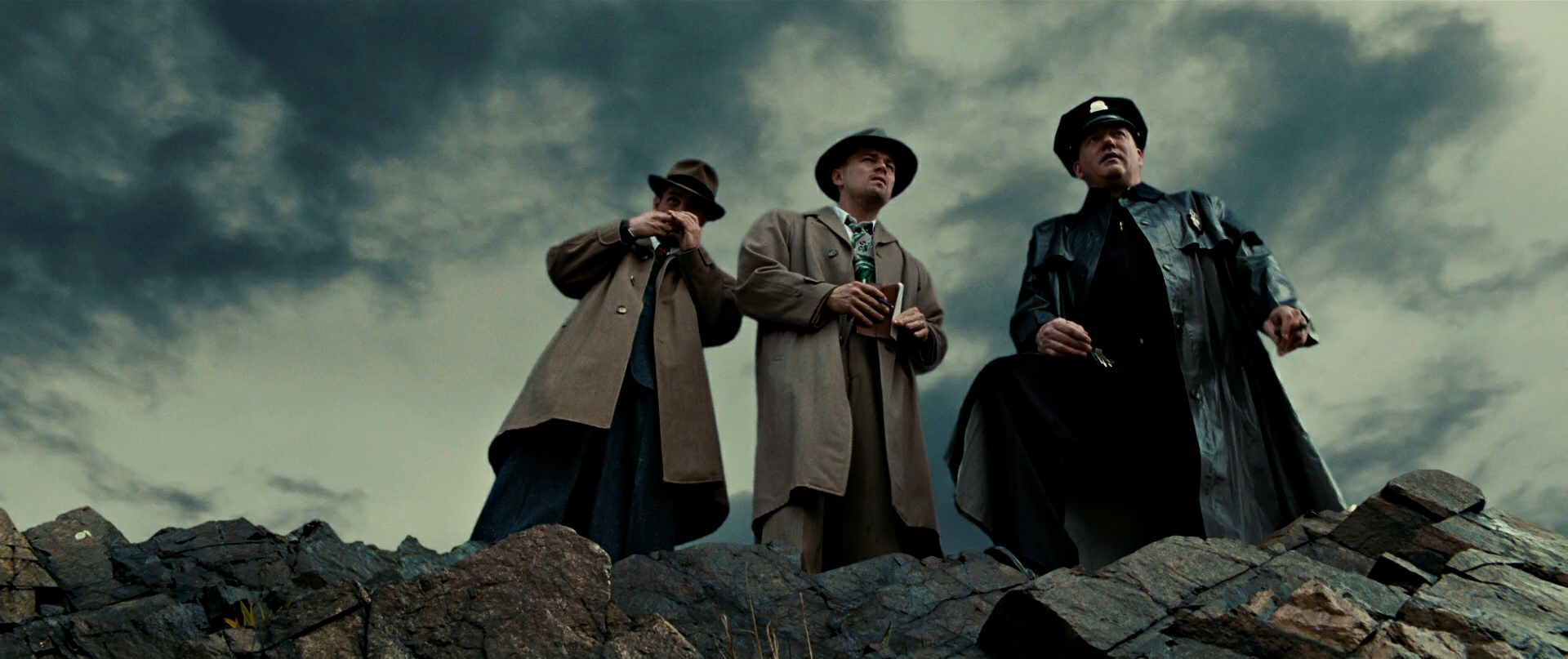 Leonardo DiCaprio and Mark Ruffalo in Shutter Island