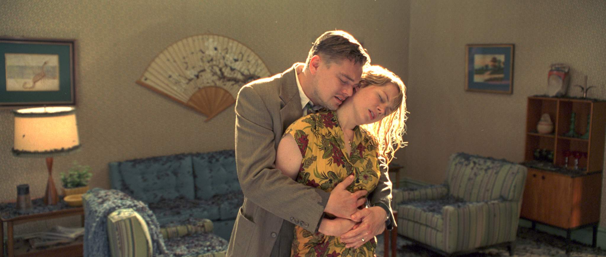 Leonardo DiCaprio and Michelle Williams in Shutter Island