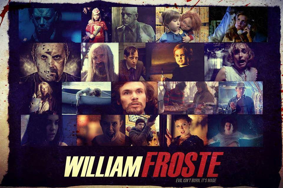 William Froste poster with cast