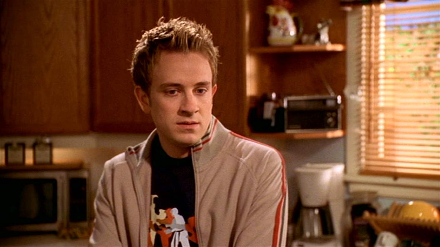 Tom Lenk as Andrew Wells on Buffy