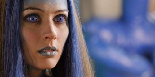 Amy Acker as Illyria on Angel
