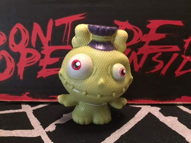 Monster squeeze toy in the March 2016 Horror Block