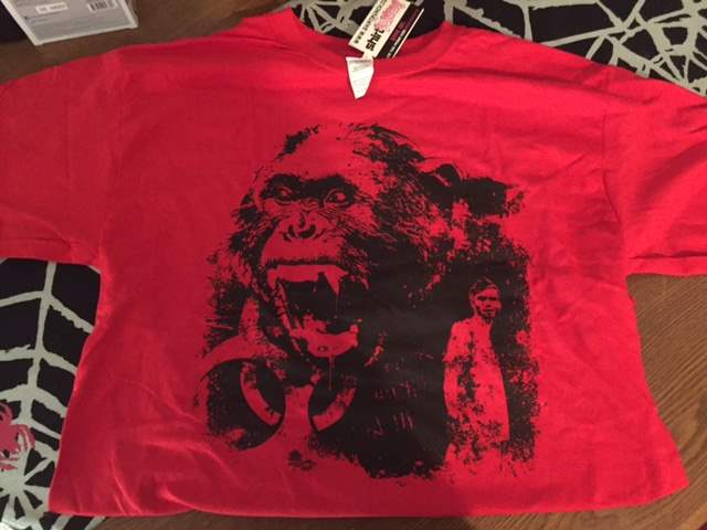 28 Days Later t-shirt in the April 2016 Horror Block