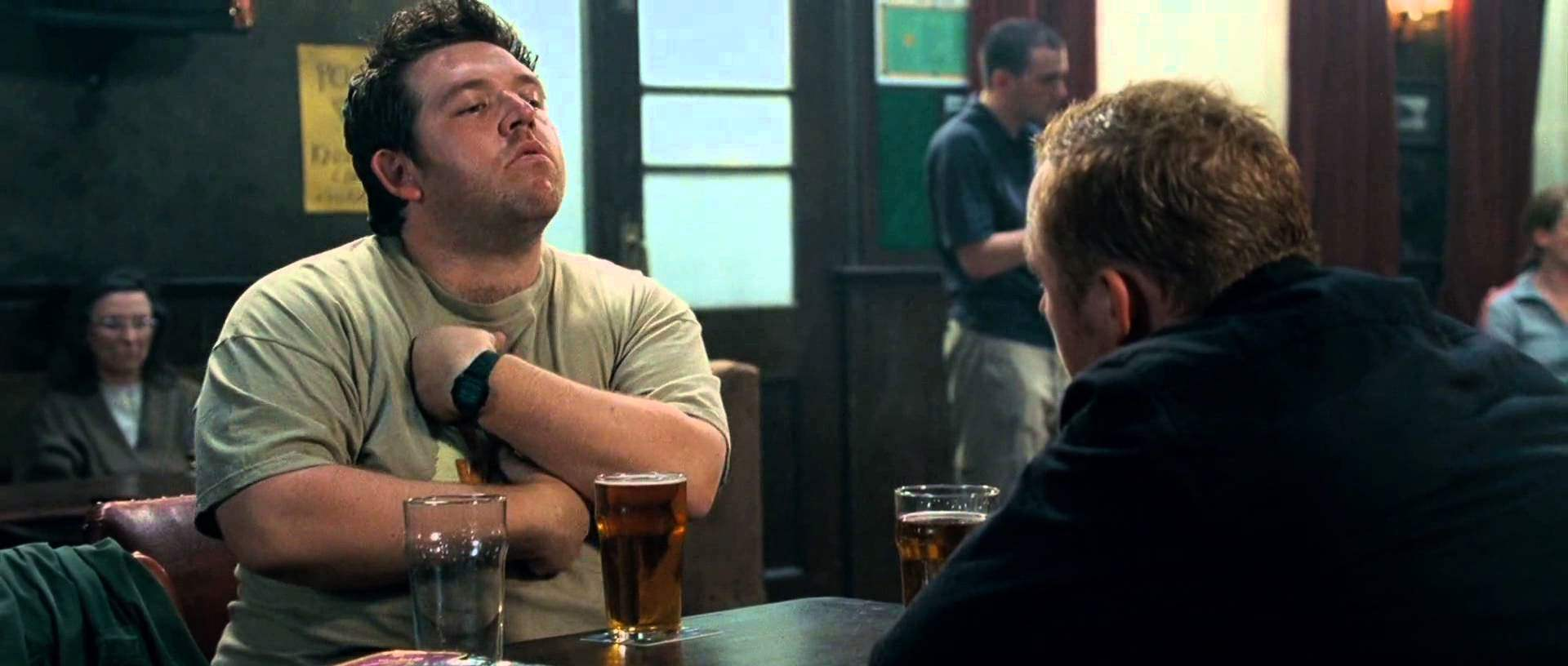 Nick Frost as Ed in Shaun of the Dead