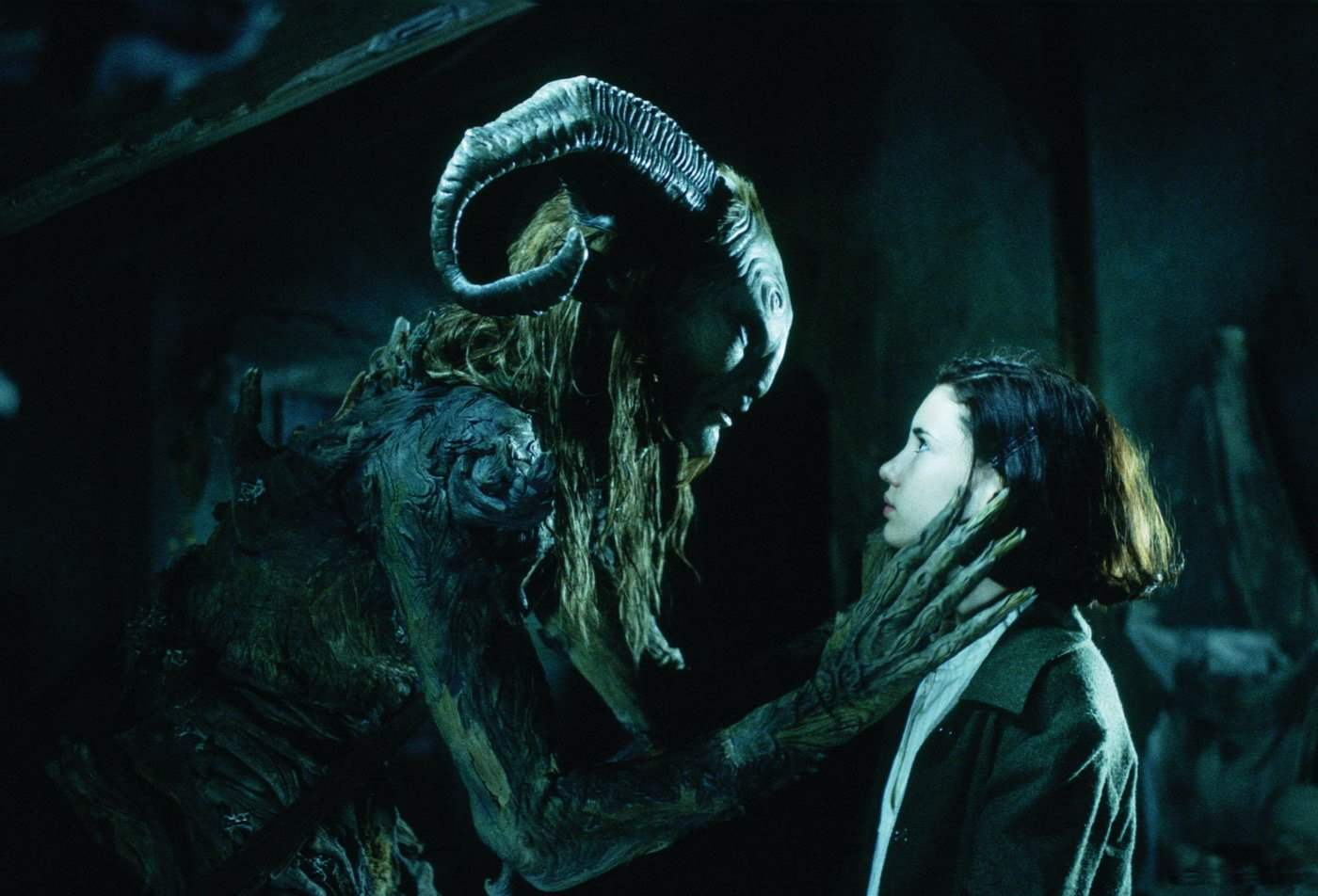 The Faun in Pan's Labyrinth