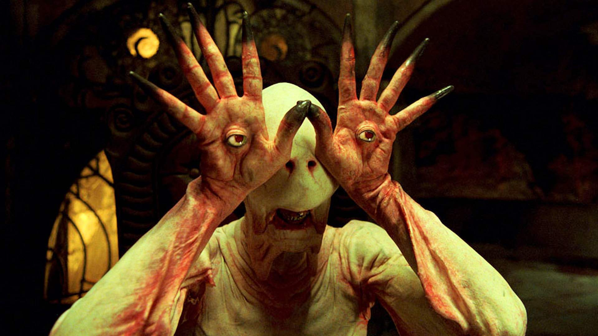 The Pale Man in Pan's Labyrinth