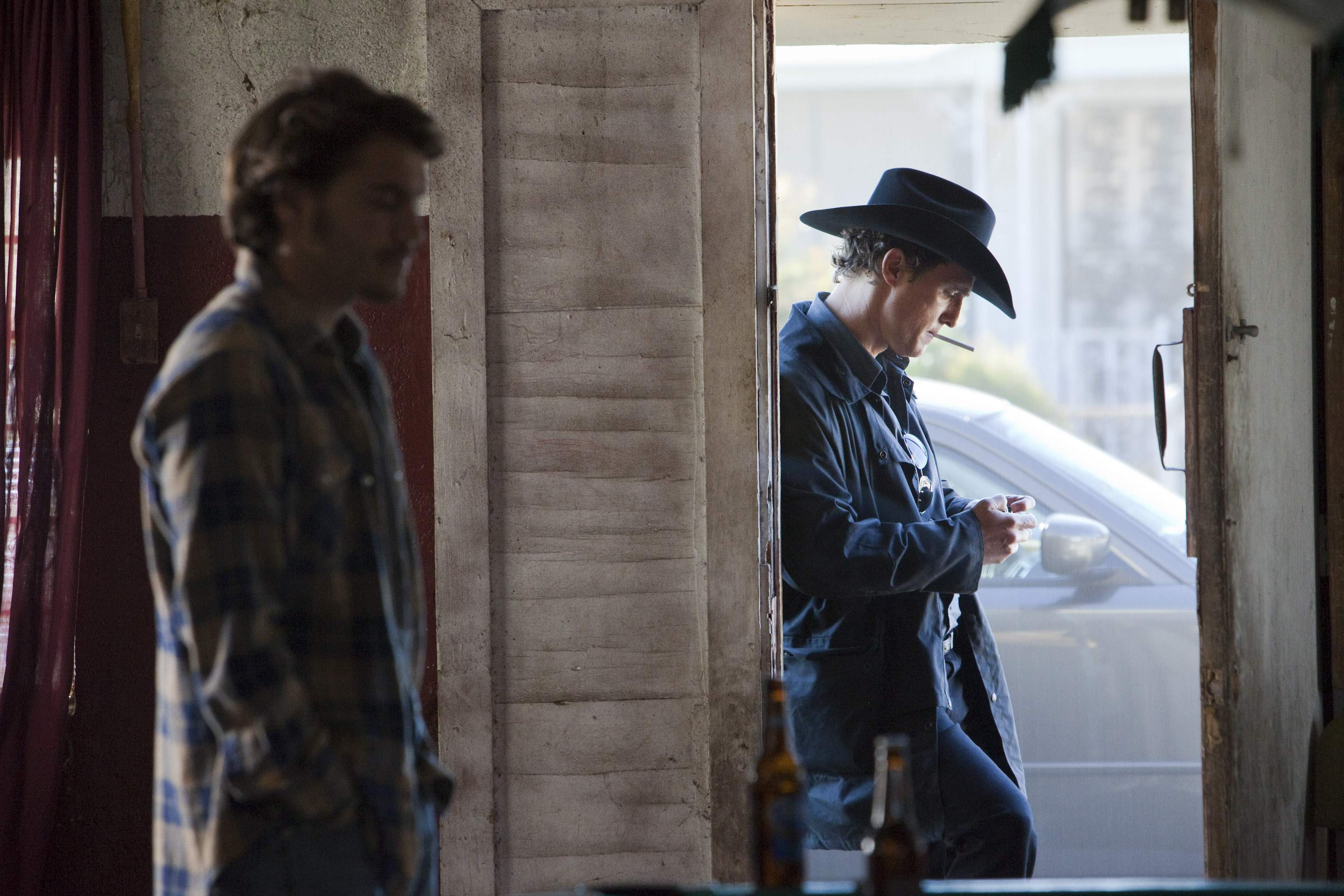 Emile Hirsch and Matthew Mc Conaughey in Killer JOe