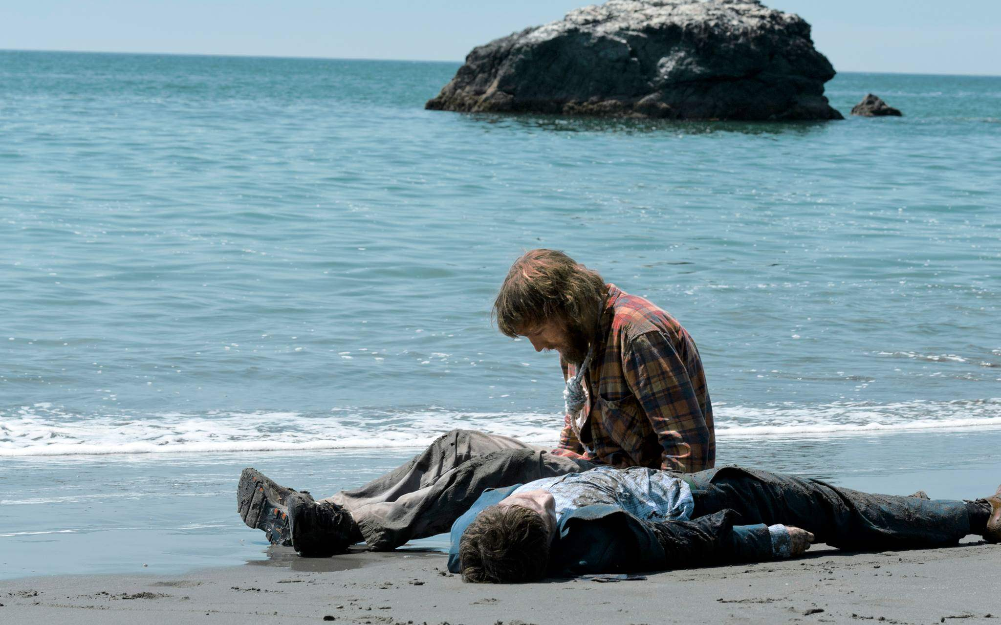 Swiss Army Man Still with Paul Dano and Daniel Radcliffe