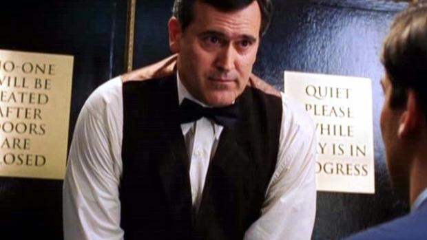 Bruce Campbell in Spider-Man 2