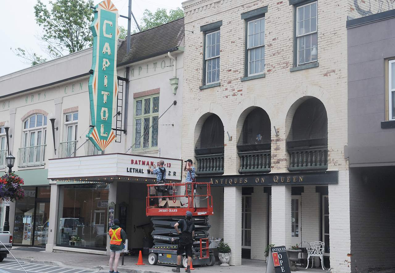 PORT HOPE -- Port Hope Capitol Theatre is now showing Batman and Lethal Weapon 2 the filming of Stephen King's It.