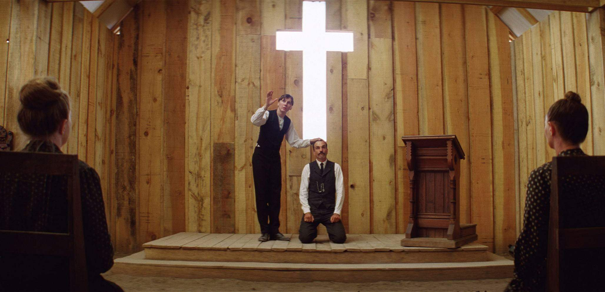 Paul Dano and Daniel Day-Lewis in There Will Be Blood