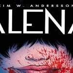 Cover art of Kim W. Andersson's 'Alena'