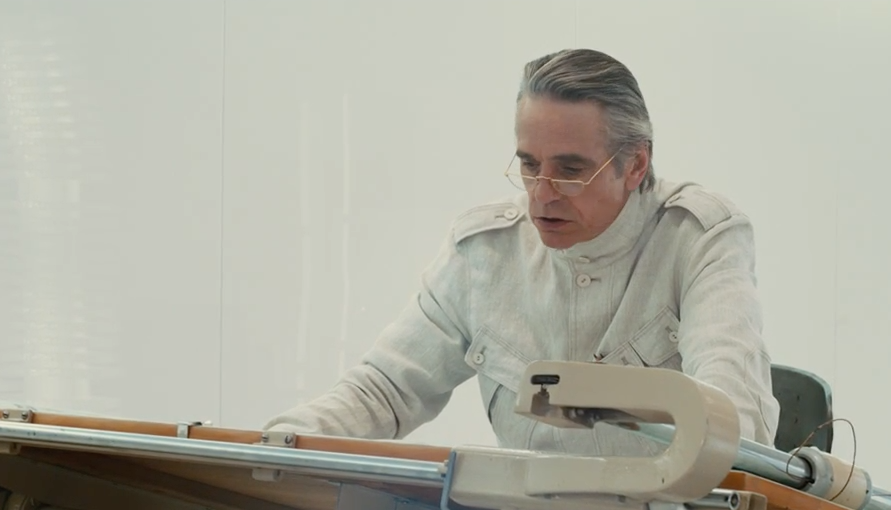 Jeremy Irons as Anthony Royal in High-Rise