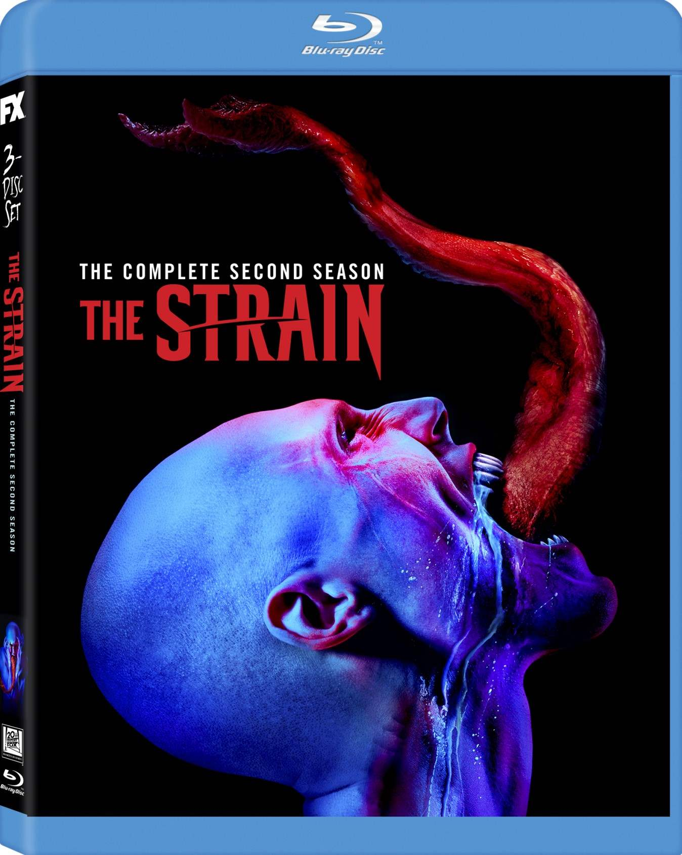 The Strain - The Complete Second Season Blu-Ray box cover art