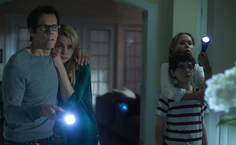 The Taylor family tries to fight the demons invading their home in The Darkness