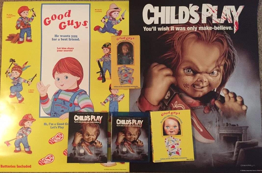 Child's Play Deluxe Limited Edition with action figure by Scream Factory