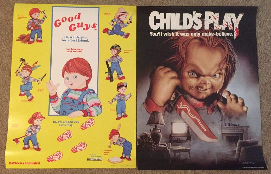Child's Play Scream Factory posters