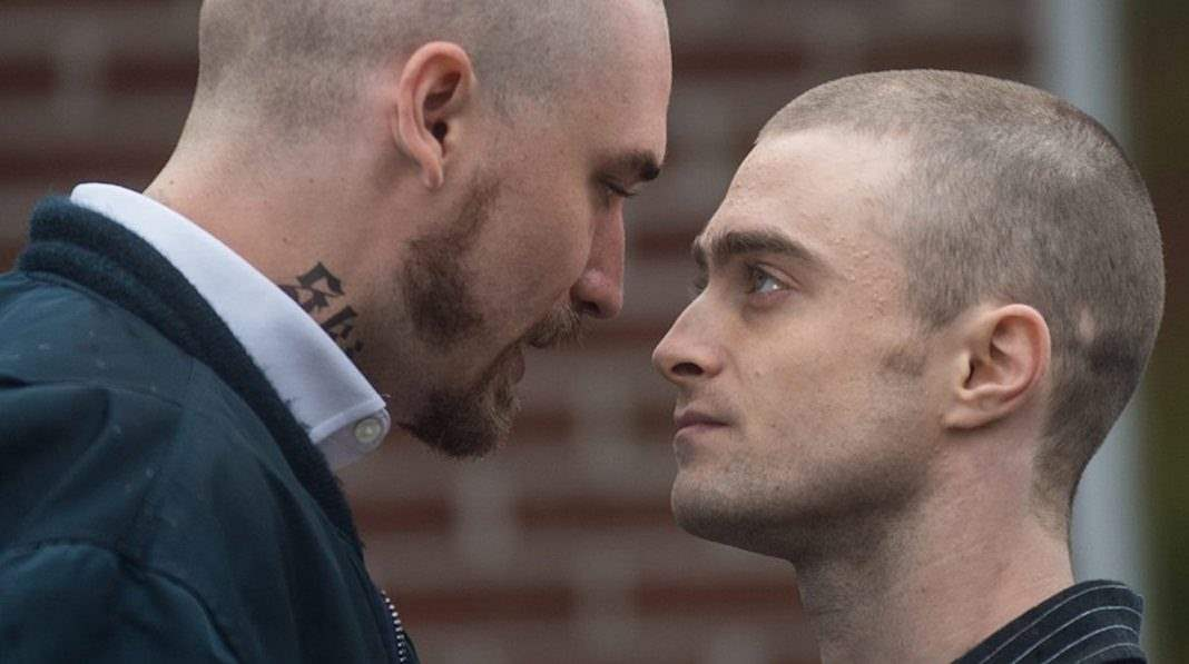 Daniel Radcliffe and white supremacist in Imperium