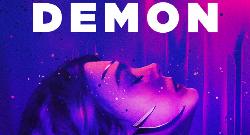 Cover art for the Neon Demon by Amazon Pictures, edited.