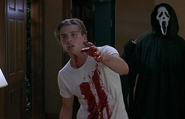 Billy Loomis in Scream stab