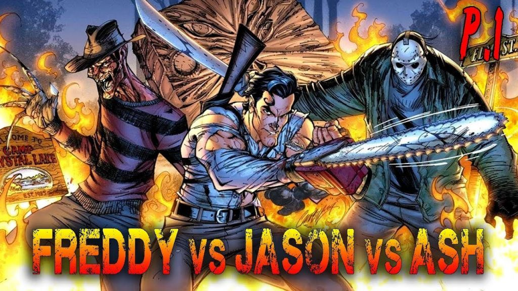 Horror Movies that Never Happened Freddy vs Jason vs Ash