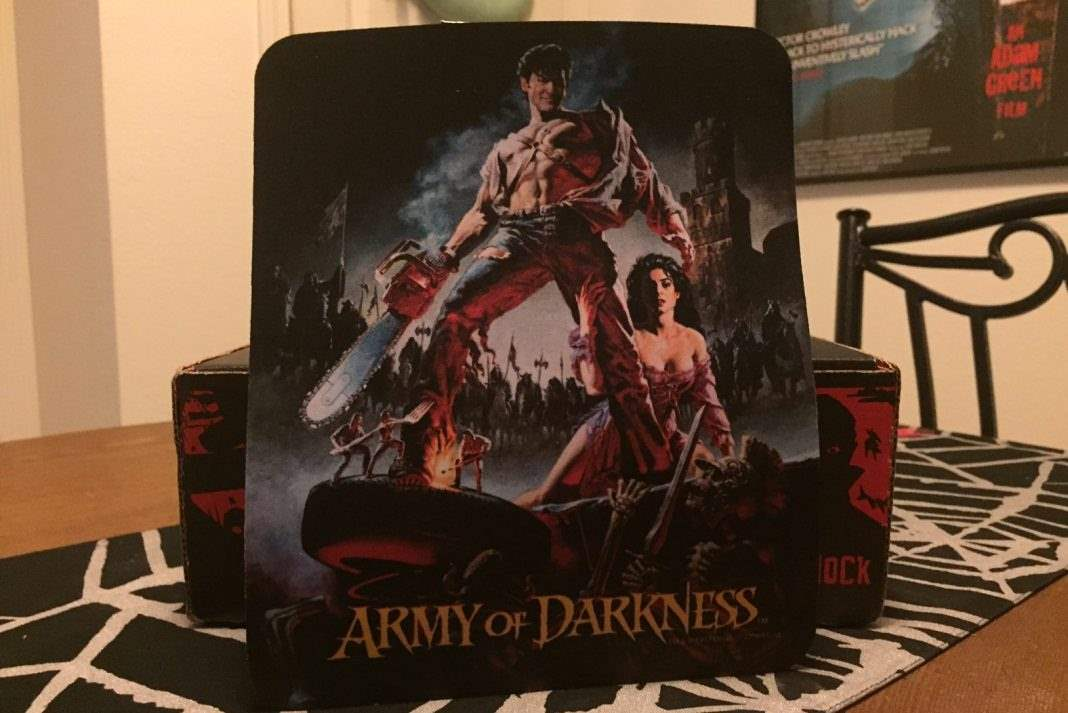 Army of Darkenss mouse pad - Horror Block December 2016
