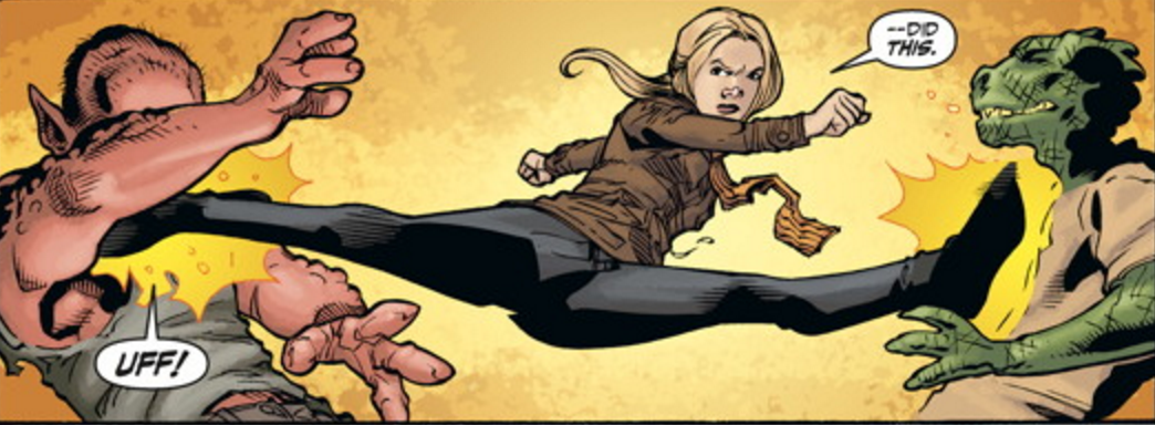 Buffy season 11 #4