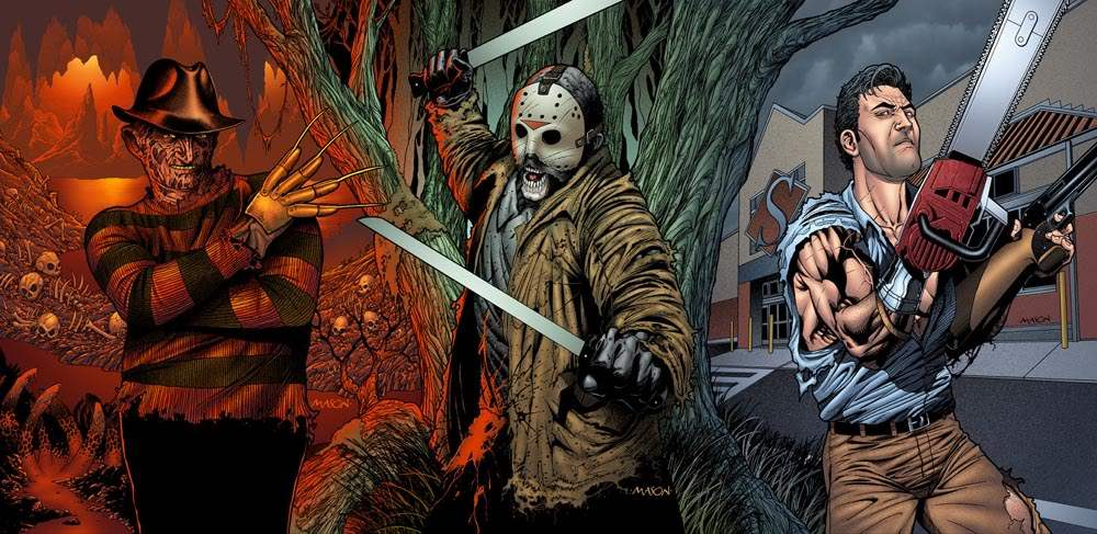 Freddy vs Jason vs Ash