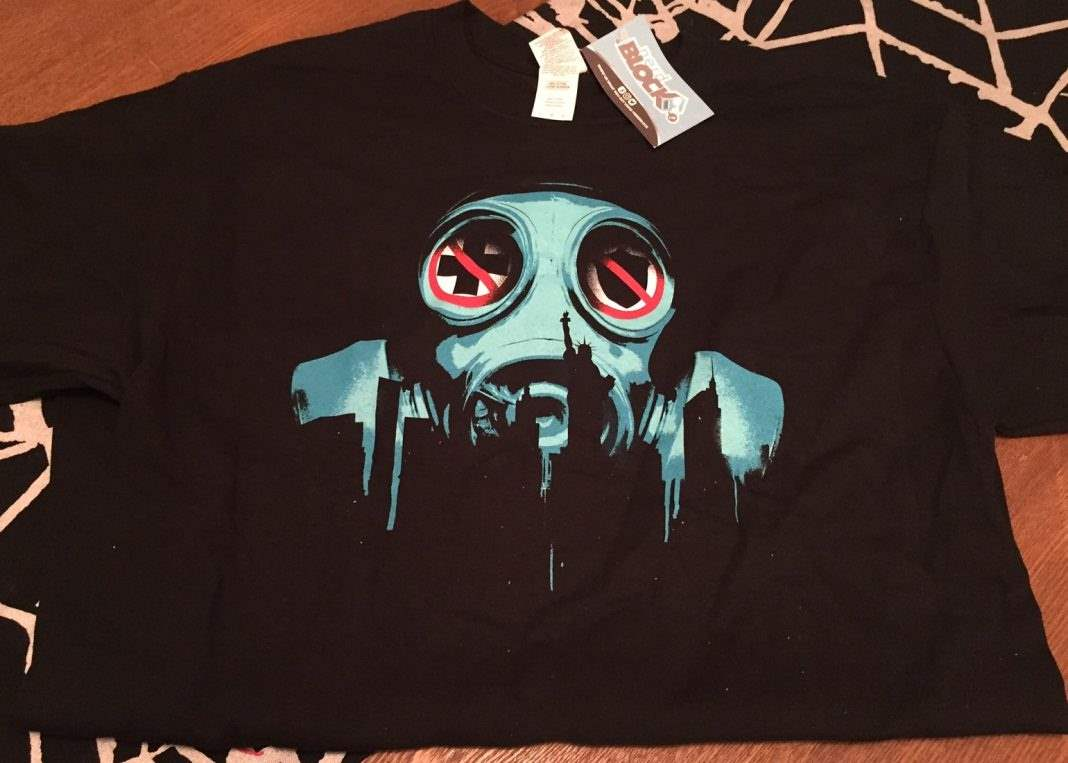 The Purge t-shirt in the February 2017 Horror Block