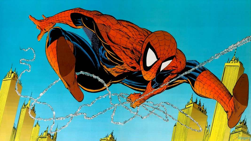 spider-man by Todd McFarlane
