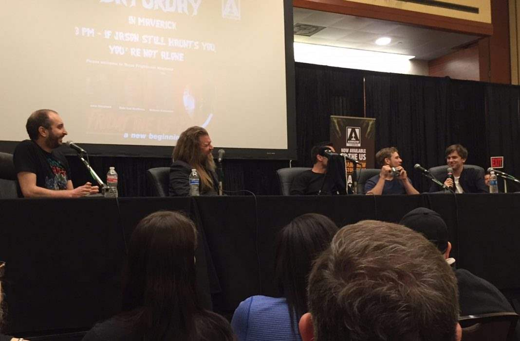 Bates Motel panel at Texas Frightmare