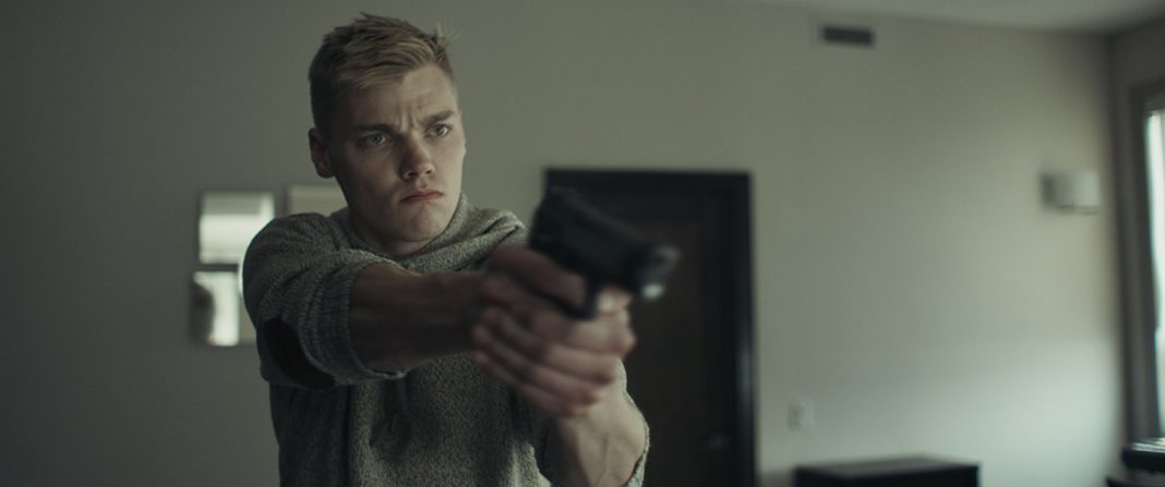 Levi Meaden in Incontrol gun