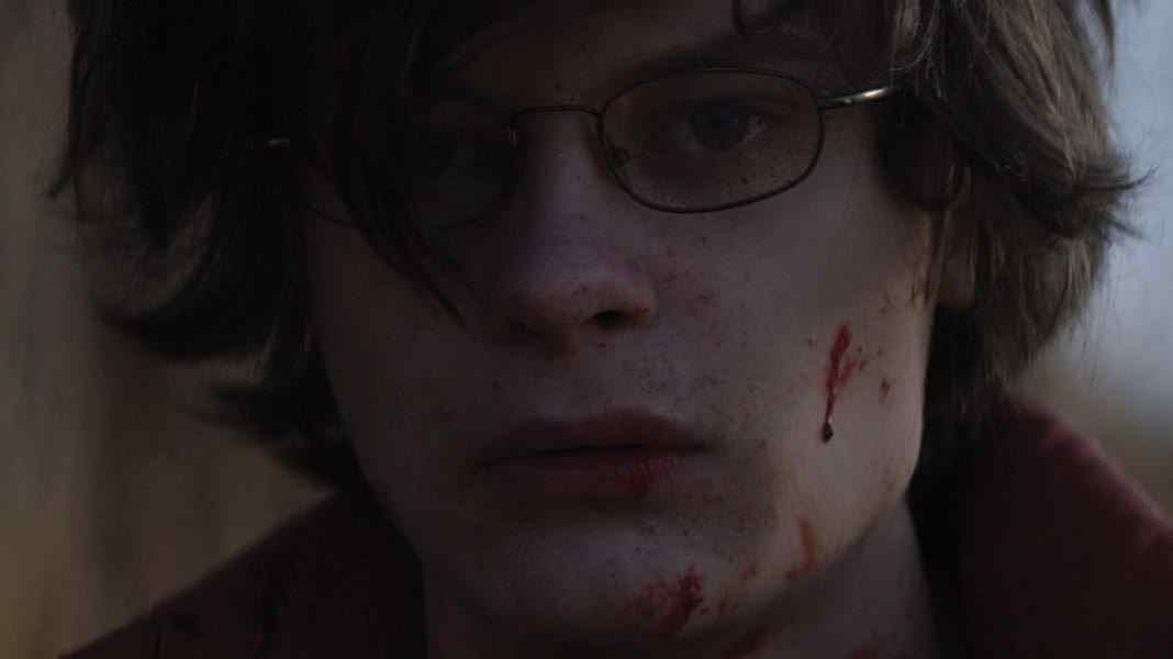 Super Dark Times bloody