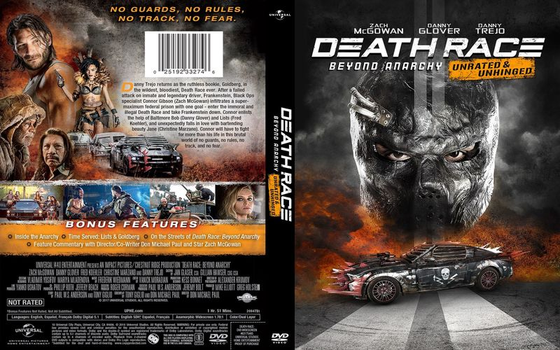 Death Race: Beyond Anarchy DVD cover