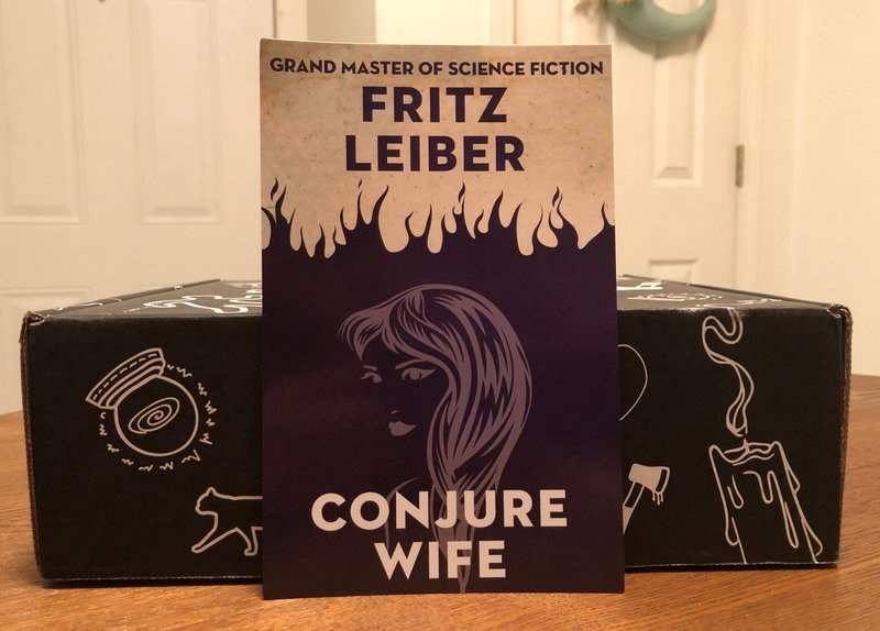 Conjure Wife by Fritz Leiber in the April 2019 Creepy Crate