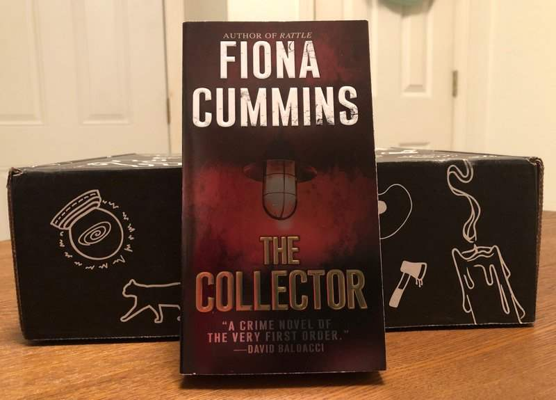 The Collector by Fiona Cummins in the April 2019 Creepy Crate