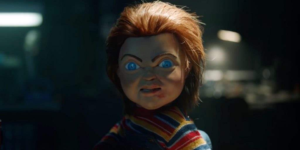 New Chucky in Child's Play remake scowl