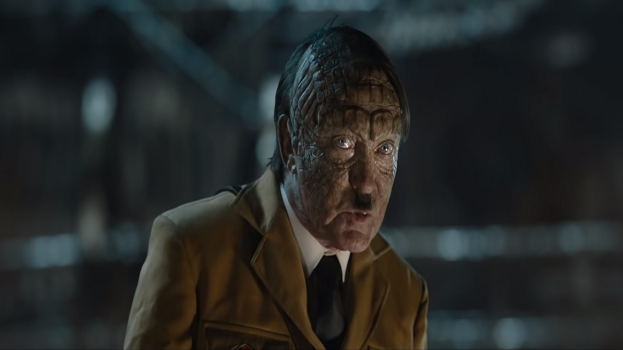 "A scene from the 2019 film ""Iron Sky: The Coming Race"""