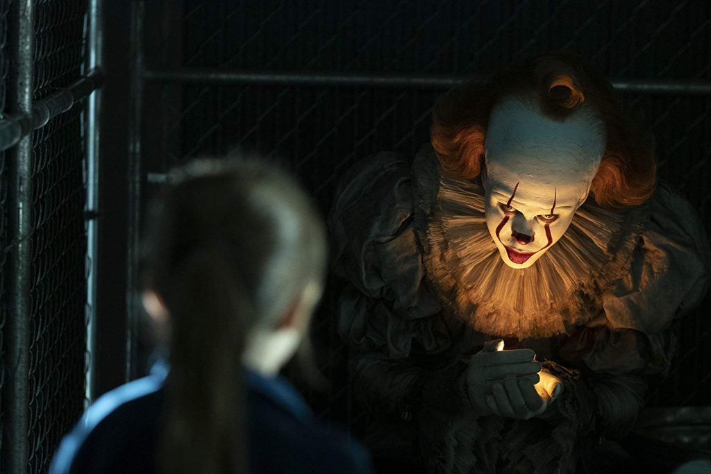Pennywise in horror movie It Chapter Two