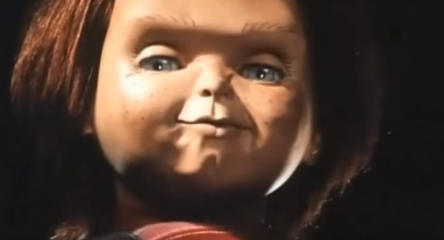 """A scene from the 1990 movie """"Child's Play 2."""""""