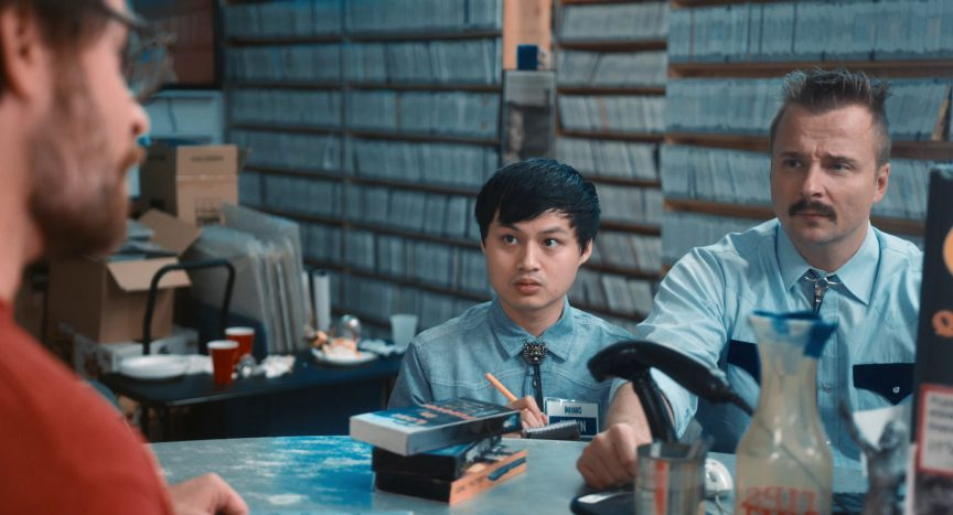 Jeremy King, Byron Brown and Hawn Tran in Scare Package