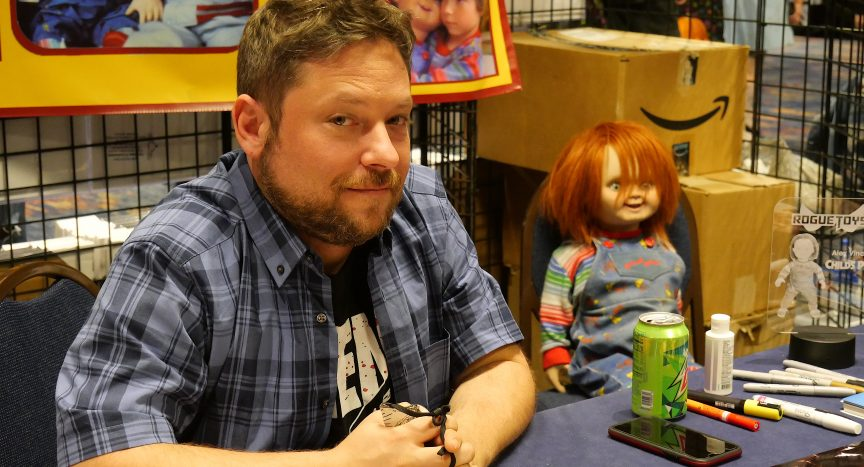 Alex Vincent at Days of the Dead in Atlanta on Feb. 27, 2021.