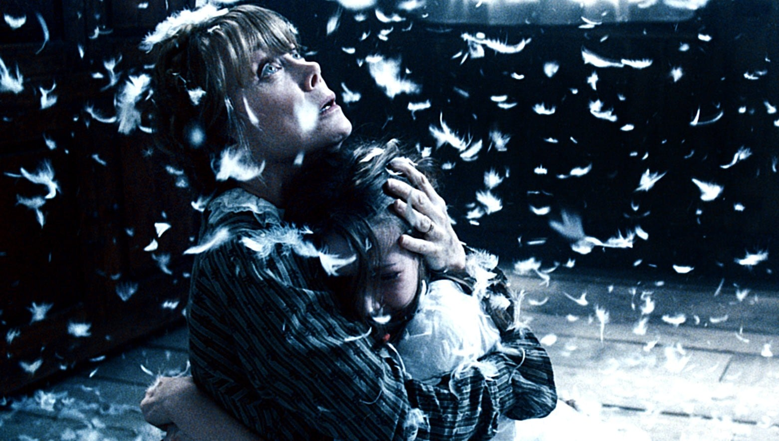 Poltergeist activity in horror film, An American Haunting