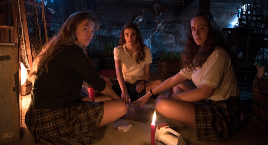 Séance in based on true story horror movie Verónica