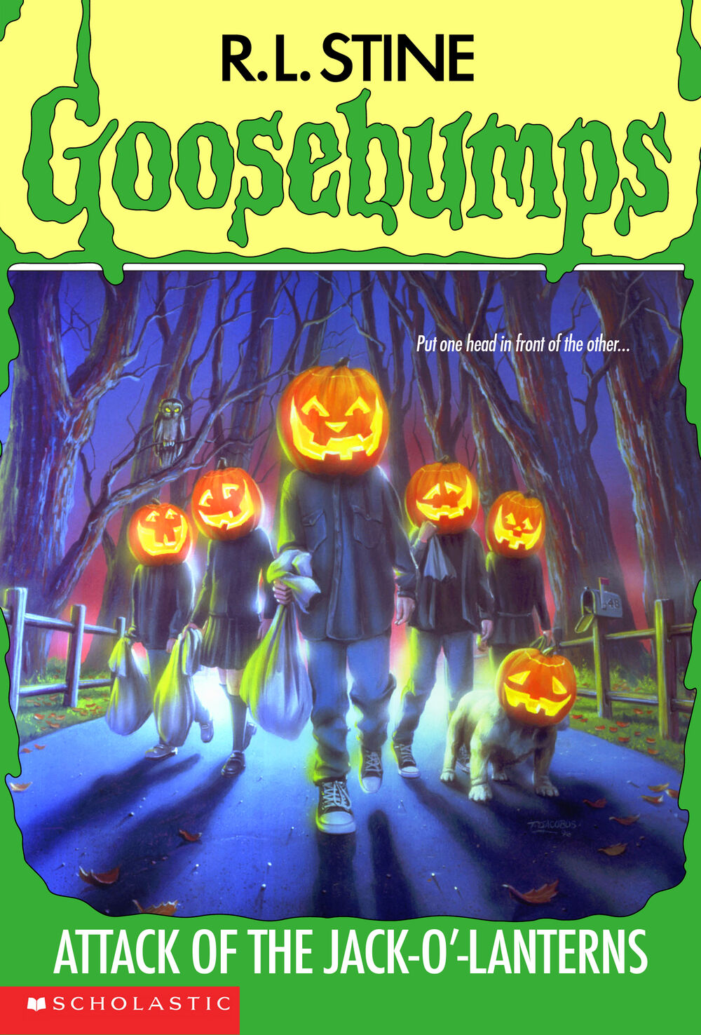 Attack of the Jack-O'-Lanterns Cover Art by Tim Jacobus