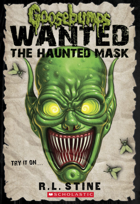 Goosebumps Wanted - The Haunted Mask Cover Art
